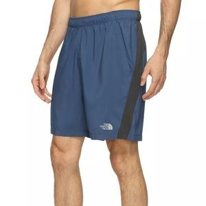 North Face Men's Reactor Shorts Blue large NEW